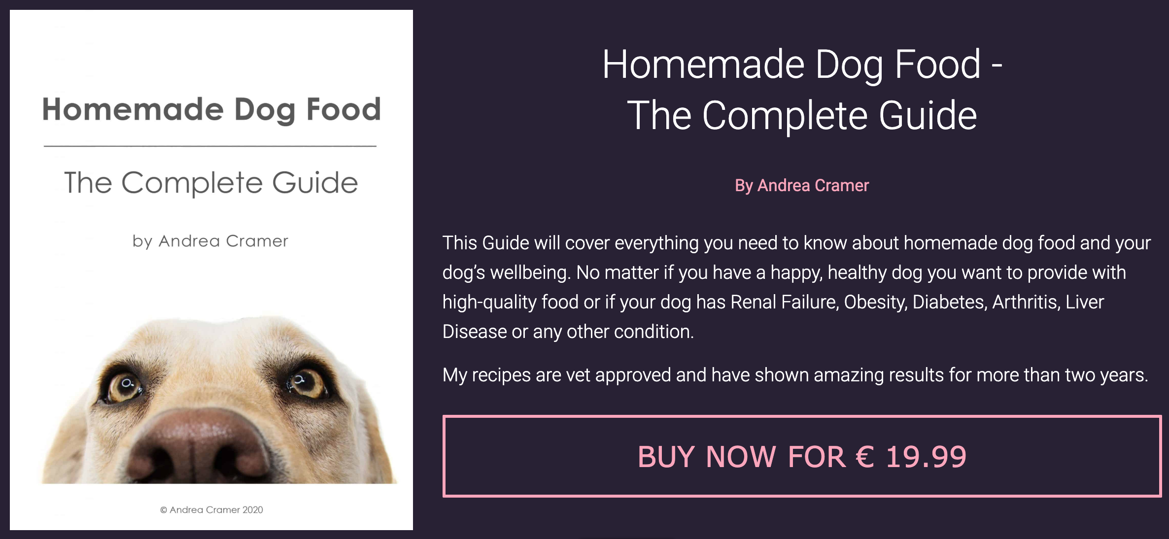Homemade Dog Food - The Complete Guide